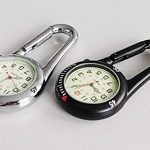 Clip On Outdoor Hook Watches Quartz Clip Carabiner Watches Come with Extra Battery 22
