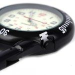Clip on Carabiner Luminous Face FOB Watch Digital for Doctors Nurses Paramedics Chefs Sport Unisex Men Women 23