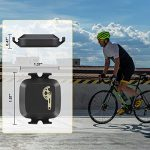CooSpo Cadence/Speed Sensor with Bluetooth & ANT+, Dynamic-tracking Cadence Sensor for GPS bike computers Sport Watches… 18