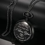 Dad Gift from Daughter to Father Engraved Pocket Watch - No Matter How Much Time Passes, I Will Always Be Your Little… 18