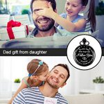 Dad Gift from Daughter to Father Engraved Pocket Watch - No Matter How Much Time Passes, I Will Always Be Your Little… 20