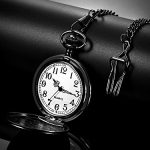 Dad Gift from Daughter to Father Engraved Pocket Watch - No Matter How Much Time Passes, I Will Always Be Your Little… 21