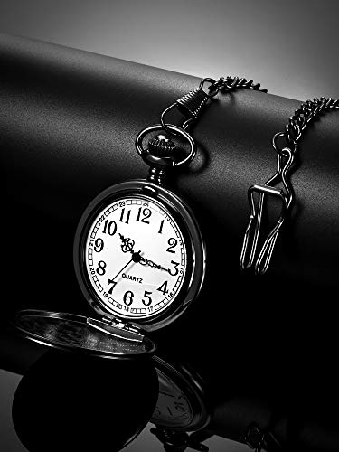 Dad Gift from Daughter to Father Engraved Pocket Watch - No Matter How Much Time Passes, I Will Always Be Your Little… 6