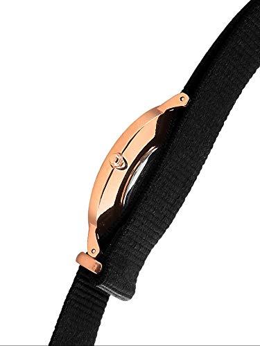 Daniel Wellington Classic Cornwall, Black/Rose Gold Watch, 36mm, NATO, for Women and Men 3