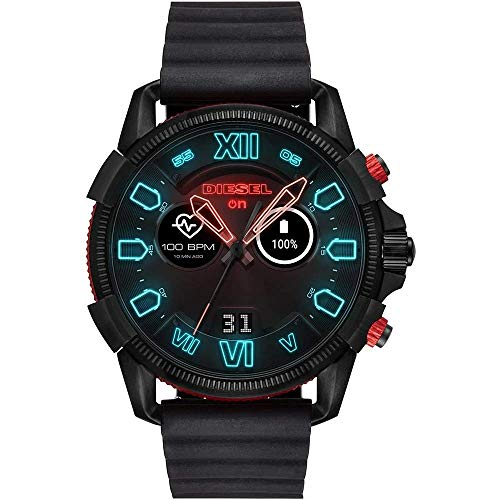 Diesel Men's Smartwatch with Wear OS by Google, Heart Rate Tracking, Google Assistant, Google Pay and More 1