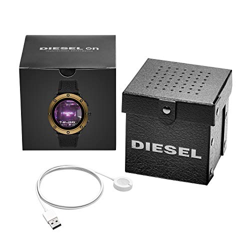 Diesel Men's Touchscreen Connected Smartwatch with Leather Strap DZT2016 4