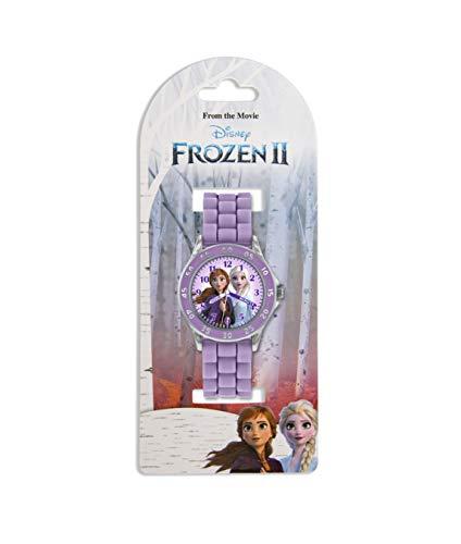 Disney Girl's Analog Quartz Watch with Silicone Strap FZN9505 3