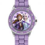 Disney Girl's Analog Quartz Watch with Silicone Strap FZN9505 7