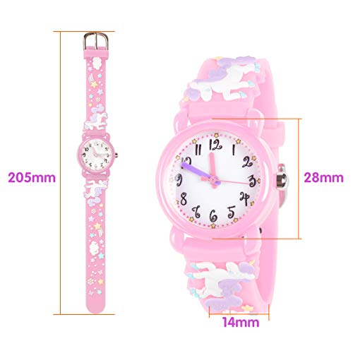 Unicorn Gifts for 3-12 Year Old Girls Kids, Watch Toys for Girl Age 5-12 Birthday Present for Kids 1