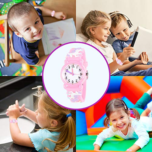 Unicorn Gifts for 3-12 Year Old Girls Kids, Watch Toys for Girl Age 5-12 Birthday Present for Kids 7