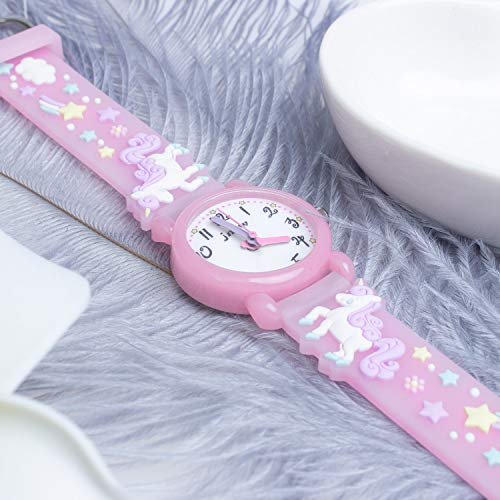 Unicorn Gifts for 3-12 Year Old Girls Kids, Watch Toys for Girl Age 5-12 Birthday Present for Kids 8