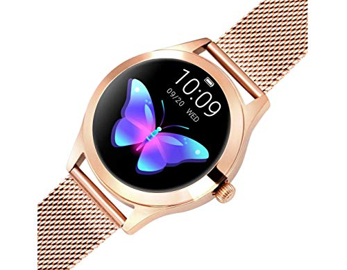 Round IP68 Waterproof Touchscreen Smart Watch for Women, Smart Watch KW10, Fitness Tracker with Heart Rate and Sleep… 6