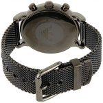 Emporio Armani Men's Chronograph Quartz Watch with Stainless Steel Mesh Strap AR1979 14