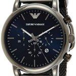 Emporio Armani Men's Chronograph Quartz Watch with Stainless Steel Mesh Strap AR1979 13