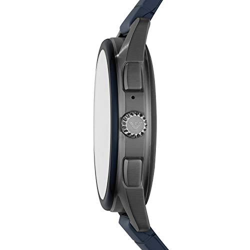 Emporio Armani Mens Smartwatch with Rubber Strap ART5008 6