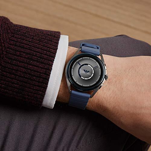 Emporio Armani Mens Smartwatch with Rubber Strap ART5008 7