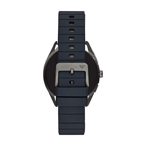 Emporio Armani Mens Smartwatch with Rubber Strap ART5008 8