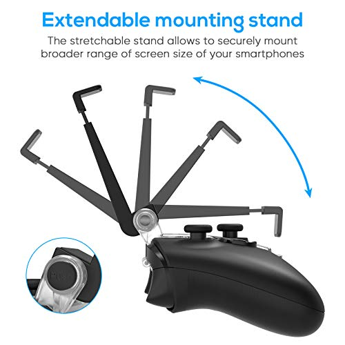 FYOUNG Controller Phone Holder for Xbox Series S/X Controller, Adjustable Mobile Phone Clip Mount for Xbox Series S/X… 3