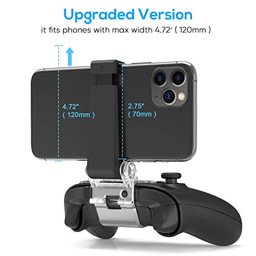 FYOUNG Controller Phone Holder for Xbox Series S/X Controller, Adjustable Mobile Phone Clip Mount for Xbox Series S/X… 4