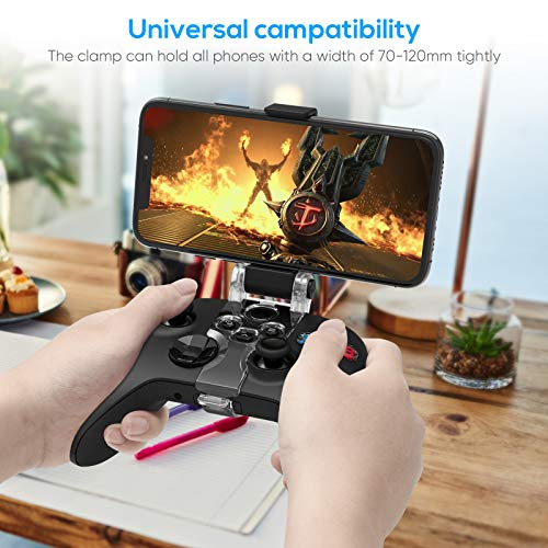 FYOUNG Controller Phone Holder for Xbox Series S/X Controller, Adjustable Mobile Phone Clip Mount for Xbox Series S/X… 6