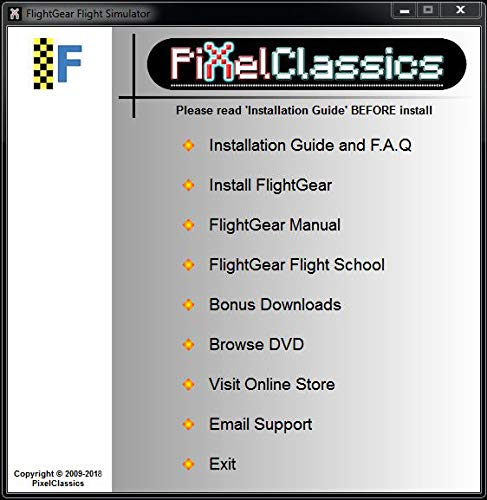 Flight Simulator 2020 X FlightGear Plane & Helicopter Sim | Premium DELUXE Edition Flight Gear Incl 600+ Aircraft | DVD… 4