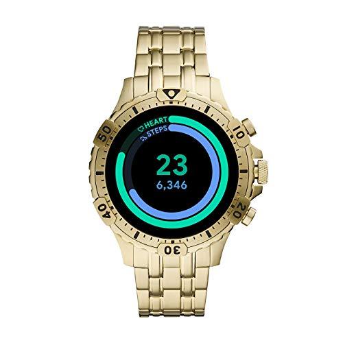 Fossil Gen 5 Garrett Stainless Steel Touchscreen Smartwatch with Speaker, Heart Rate, GPS, NFC, and Smartphone… 4