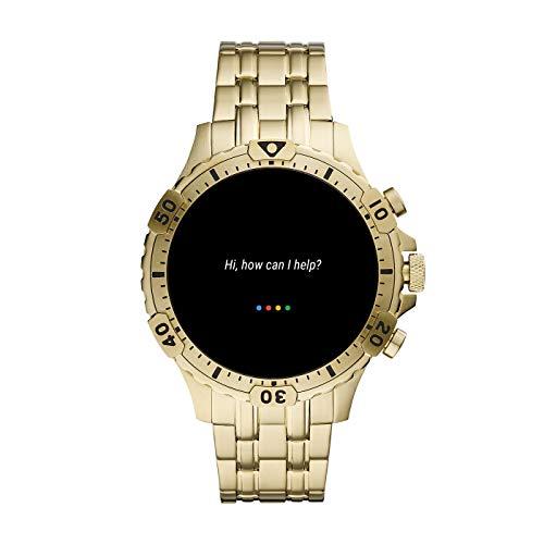 Fossil Gen 5 Garrett Stainless Steel Touchscreen Smartwatch with Speaker, Heart Rate, GPS, NFC, and Smartphone… 10