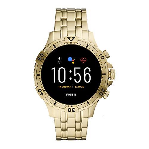 Fossil Gen 5 Garrett Stainless Steel Touchscreen Smartwatch with Speaker, Heart Rate, GPS, NFC, and Smartphone… 1
