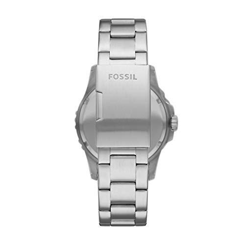 Fossil Men's Analog Quartz Watch with Stainless Steel Strap FS5652 3
