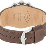 Fossil Men's Chronograph Quartz Watch with Leather Strap 22