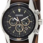 Fossil Men's Chronograph Quartz Watch with Leather Strap 21