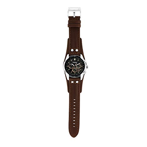 Fossil Men's Chronograph Quartz Watch with Leather Strap 6