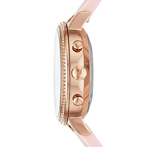 Fossil Women's Analogue Hybrid Watch with Silicone Strap FTW5059 3