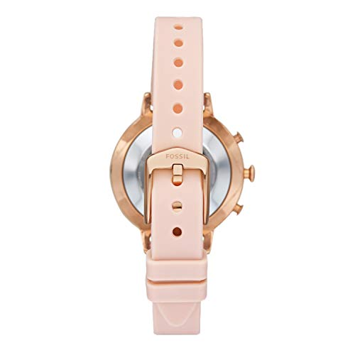 Fossil Women's Analogue Hybrid Watch with Silicone Strap FTW5059 4