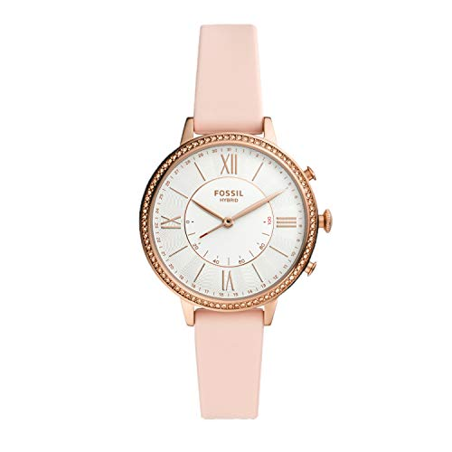 Fossil Women's Analogue Hybrid Watch with Silicone Strap FTW5059 1