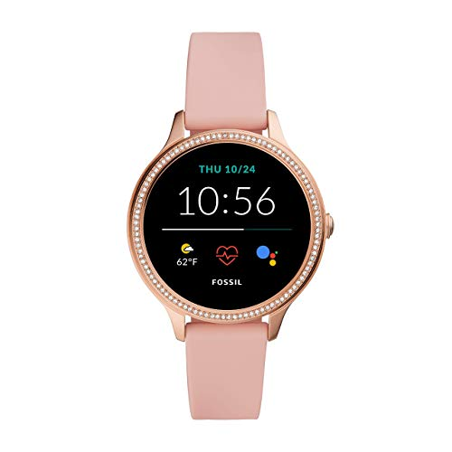 Fossil Women's Gen 5E Touchscreen Smartwatch with Speaker, Heart Rate, NFC, and Smartphone Notifications 1