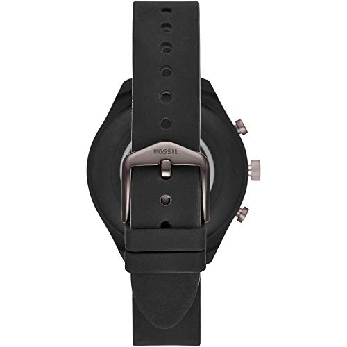 Fossil Womens Smartwatch with Silicone Strap 3
