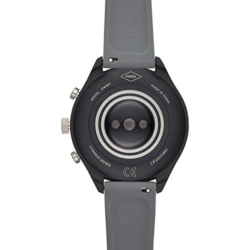 Fossil Womens Smartwatch with Silicone Strap 5