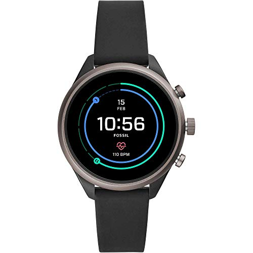 Fossil Womens Smartwatch with Silicone Strap 1