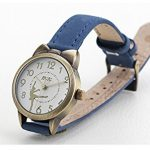 Fq-234 Brown Leather Strap Bowknot Kitty Design Students Girls Woman Quartz Wrist Watches 22