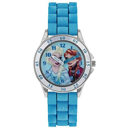 Frozen Girls Analogue Classic Quartz Watch with Rubber Strap FZN9012 1