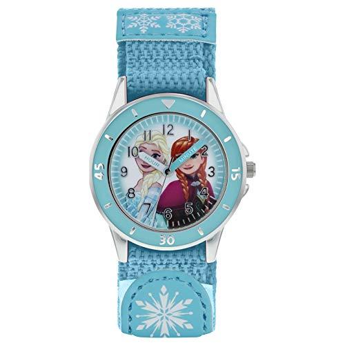 Frozen Girls Analogue Classic Quartz Watch with Textile Strap FZN5014 1