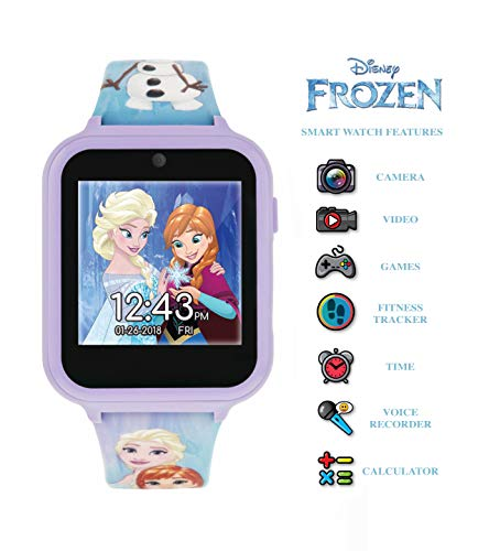 Frozen Unisex Child Digital Watch with Silicone Strap FZN4151 4