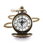 Fullmetal Alchemist Pocket Watch with Chain Box for Cosplay Accessories Anime Merch 18