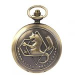 Fullmetal Alchemist Pocket Watch with Chain Box for Cosplay Accessories Anime Merch 17