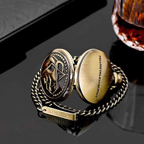 Fullmetal Alchemist Pocket Watch with Chain Box for Cosplay Accessories Anime Merch 8
