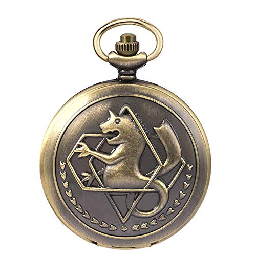 Fullmetal Alchemist Pocket Watch with Chain Box for Cosplay Accessories Anime Merch 1