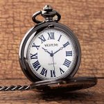 GORBEN Mens Dad Pocket Watches Vintage Quartz Fob Watches with Chain Fob Pendent for Men Daddy Birthday Father's Day… 16