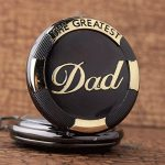 GORBEN Mens Dad Pocket Watches Vintage Quartz Fob Watches with Chain Fob Pendent for Men Daddy Birthday Father's Day… 17