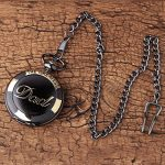 GORBEN Mens Dad Pocket Watches Vintage Quartz Fob Watches with Chain Fob Pendent for Men Daddy Birthday Father's Day… 18